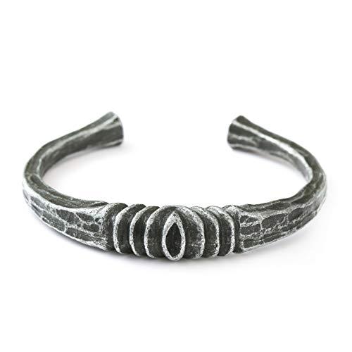 HAQUIL Viking Rune Cuff Bracelet for Men and Women