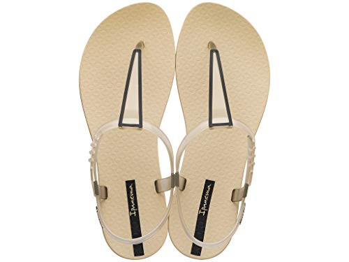 Ipanema Stardust Women's Sandals, Beige/Beige (7 US)