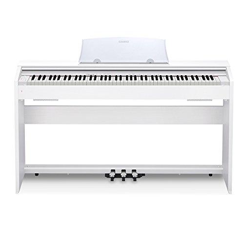 Casio PX-770 WH Privia Digital Home Piano, White