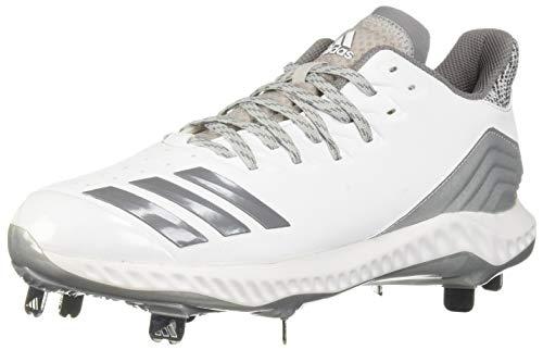 adidas Men's Icon Bounce, White/Grey/Grey, 10 M US