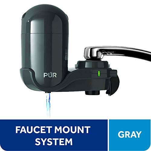 PUR FM2500V Classic Faucet Mount Filter, Small, Grey