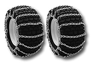 Snow/Mud Tire Chains 20X9X10, 20X10X8/10, 22X10X8, 21X8X10 2-Link Pair