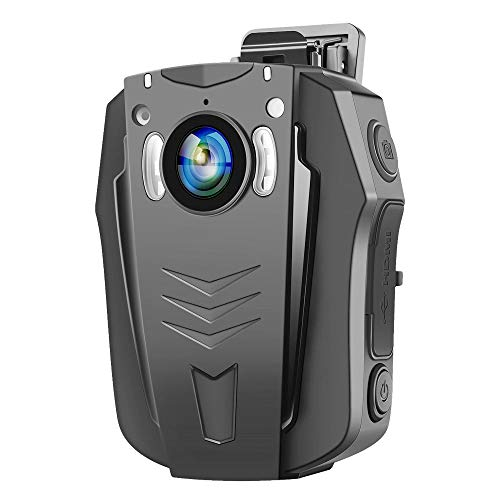 BOBLOV PD70 WiFi Body Camera 1296P Wearable Body Cameras Night Vision Camera Built-in Memory Light and Small Body with Audio Recording 170 Degree for Law Enforce or Daily Use (32GB)