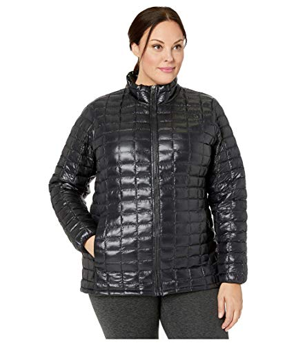 The North Face Plus Size Thermoball Eco Jacket TNF Black 2X