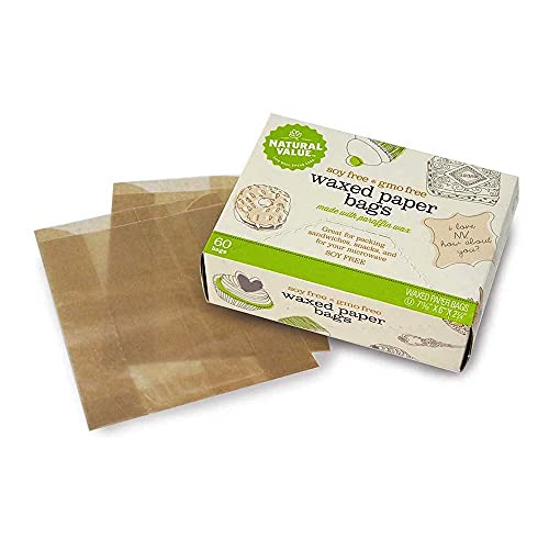Natural Value Waxed Paper Bags / 60-ct. Boxes / 6-Pack
