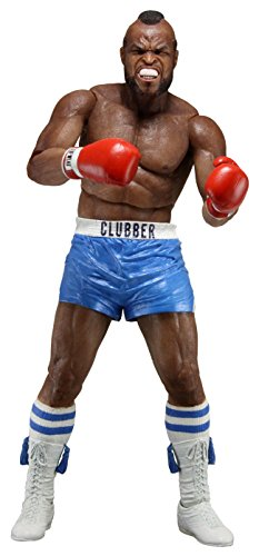 NECA 40th Anniversary Series 1 Clubber Action Figure (7' Scale), Blue