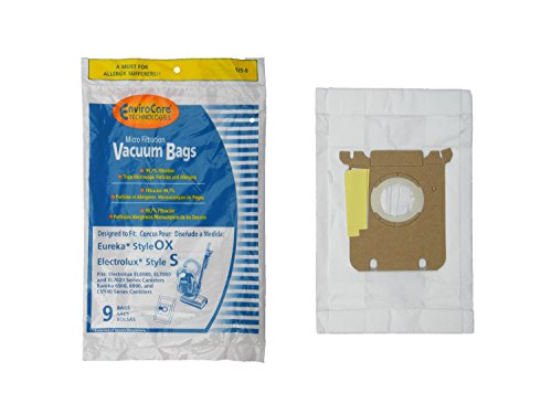 36 ELECTROLUX OXYGEN AND HARMONY CANISTER MICROFILTRATION VACUUM CLEANER BAGS