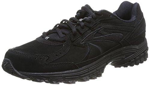 Brooks Adrenaline Walker 3 Mens Running Shoes, Black, 8.5