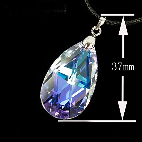 Cosplay_Rim Sword Art Online Asuna Costume Cosplay Heart of Yui Crystal Necklace