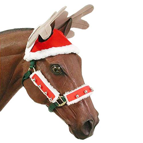 JT International Holiday Horse Antlers