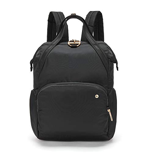 PacSafe Women's Citysafe CX 17L Anti Theft Backpack-Fits 13 inch Laptop, Black, One Size