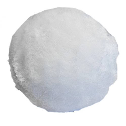 Jumbo Plush Bunny Tail Costume Accessory (White)
