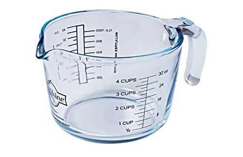 Arcuisine Borosilicate Glass Measuring Cup / 1 Liters / 33.8 Ounces