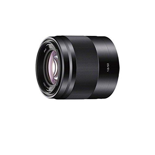 Sony SEL50F18 50mm f/1.8 Lens for Sony E Mount Nex Cameras (Black) - Fixed (Renewed)