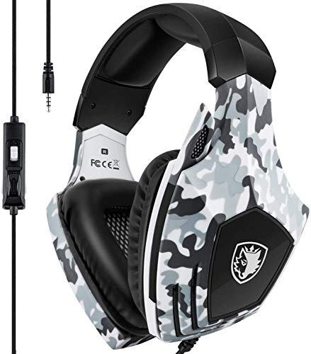 Xbox One Gaming Headset,SADES Stereo PC PS4 Gaming Headphones