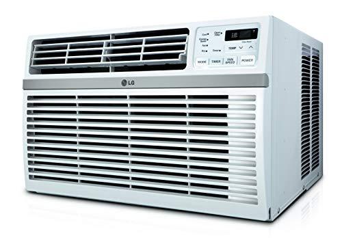 LG LW8016ER 8,000 BTU 115V Window-Mounted Remote Control Air Conditioner, White