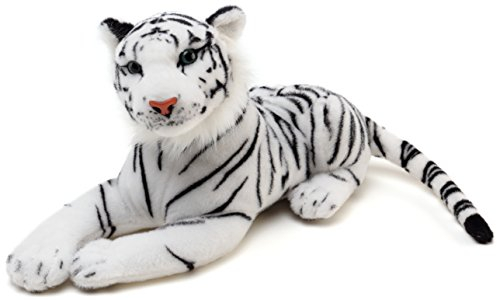 VIAHART Saphed The White Tiger | 17 Inch (Tail Measurement Not Included!) Stuffed Animal Plush | by Tiger Tale Toys