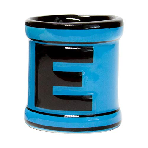 JUST FUNKY Official Mega Man Shot Glass | Hand-Crafted Energy Tank Ceramic Shot Glass | Holds 1.5 Ounces