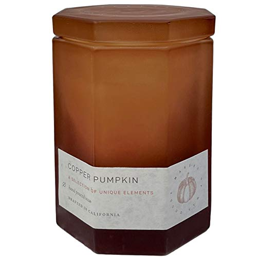 Makers of Wax Goods Copper Pumpkin Scented Candle