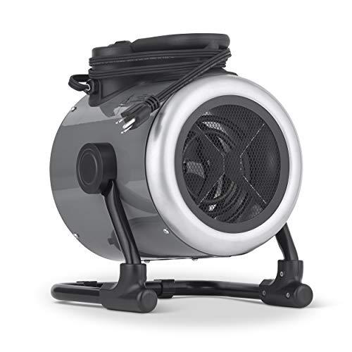 NewAir Portable 120V Electric Garage Heater, 170 sq. ft with Adjustable Tilt Head, Perfect for Garages, Workshops and More, NGH170GA00