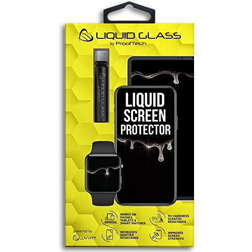 Liquid Glass Screen Protector for Up to 4 Devices   Universal for All Smartphones Tablets Smart Watches
