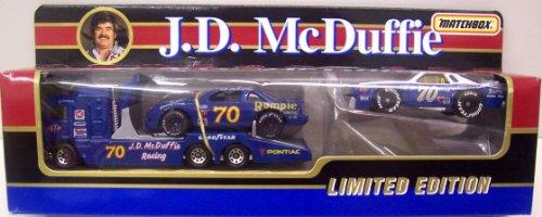 Matchbox Team Convoy #70 J.D. McDuffie - 1:64 Scale Diecast