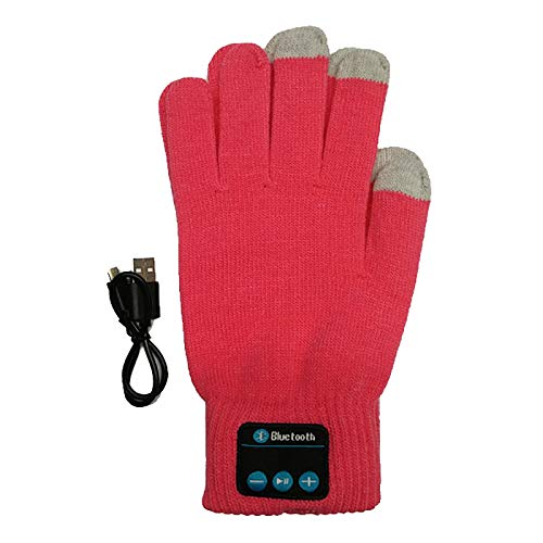 Savage Bluetooth Gear Wireless Smartphone Enabled Gloves with Easy Connect Smartphone Technology Pink