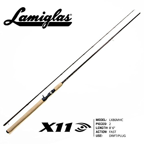Lamiglas LX 86MHC X-11 Series Fishing Rod