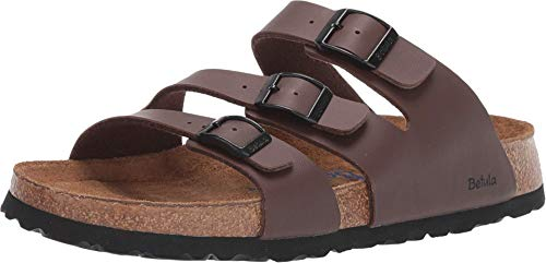 BIRKENSTOCK Betula Licensed Leo Soft Cordoba Brown Birko-Flor 38 (US Women's 7-7.5) Narrow