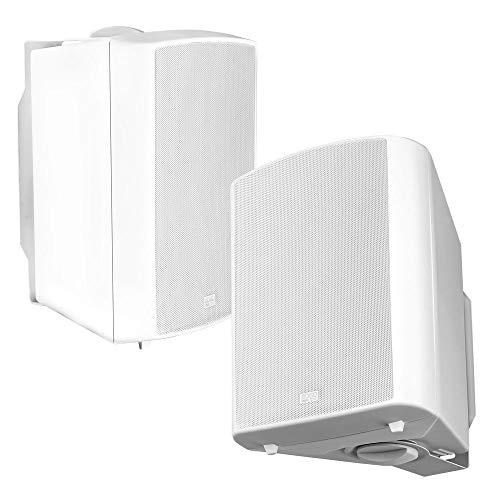 OSD Audio Outdoor Patio Speaker 8' Pro Stereo Pair White AP840