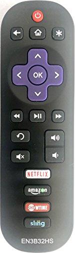 New USARMT Replaced Hisense Roku EN3B32HS Remote for Hisense TV 32H4C, 32H4CA 40H4, 40H4C, 40H4C1,40H4C2 48H4, 48H4C 50H4C