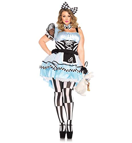Psychedelic Alice Adult Costume - Plus Size 1X/2X