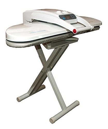 Speedy Press Extra Large Digital Ironing Steam Press with Stand, Including Extra Cover! 1800 Watts! 38 Powerful Jets of Steam, 100lbs of Pressure! (Extra Large with Stand)