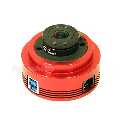 ZWO ASI120MC-S 1.2 Megapixel USB3.0 Color Astronomy Camera for Astrophotography
