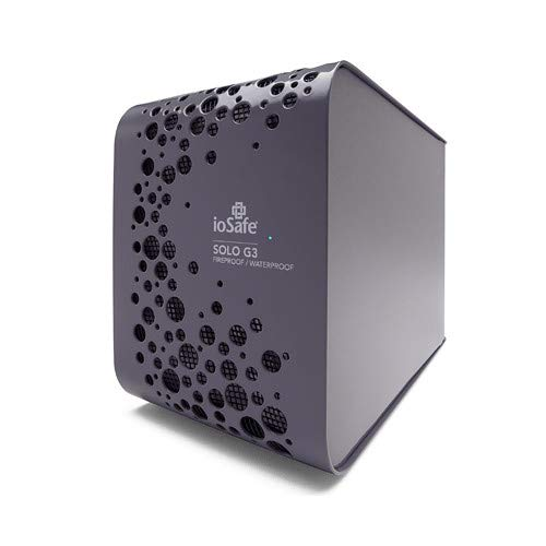 Factory RECERTIFIED Solo G3, USB3, 4TB, Fireproof and Waterproof, External Hard Drive