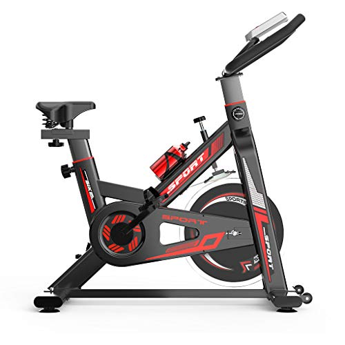 Indoor Sport Bike, Stationary Exercise Bikes , Cycling Bicycle for Home Cardio Gym Workout,perfect for Men and Women at Home,with High Weight Capacity Adjustable Magnetic Resistance (Black)