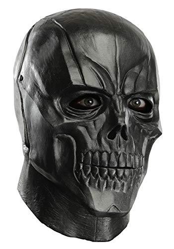 Rubie's Men's Arkham City Adult Deluxe Overhead Latex Black Mask, Multi, One Size