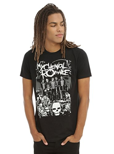 Hot Topic My Chemical Romance The Black Parade Lineup T-Shirt