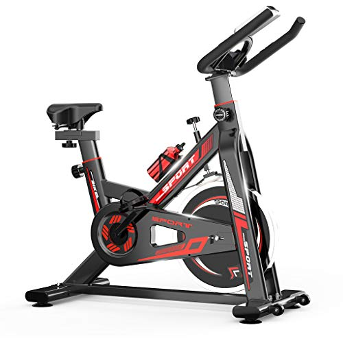 MTFITNESS Indoor Cycling Bike Stationary,Exercise Bike Spinning Bike,Fitness Bikes for Home Cardio Workout Bike Training with Digital Monitor Black