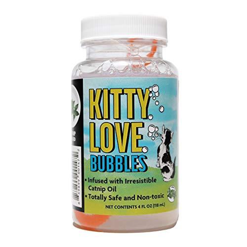 Kitty Love - 4 oz | Catnip Bubbles for Cats