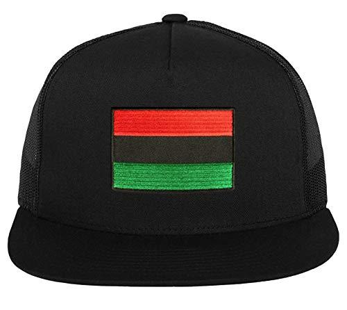 Brilliant Clothing Pan Africa Flag Hat RBG African American Black Liberation (2. Flat Brim Trucker)