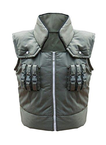 DAZCOS Adult US Size Kakashi Hatake Vest Cosplay Costume (X-Small) Green