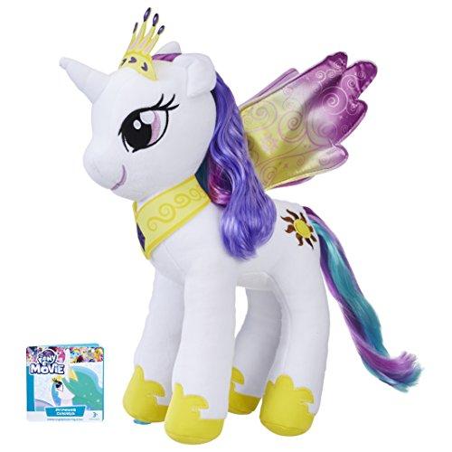 Hasbro My Little Pony E0429ES0Mane Fun Plush Princess Celestia