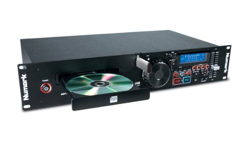 Numark MP103USB | Rackmount USB and CD Player With Dedicated Pitch and Master Tempo Controls, Performance-Driven Inputs / Outputs and Support for CD & MP3CD