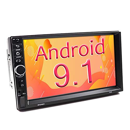 Binize 7 Inch Double Din Android Car Stereo, in-Dash Multimedia Player,with GPS Navigation,FM,Bluetooth,WiFi,USB/TF/AUX Input, Support Back up Camera Input(B7918 2G RAM+16G ROM)