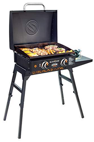 Blackstone 22' Tabletop Griddle with Griddle Hood and Stand