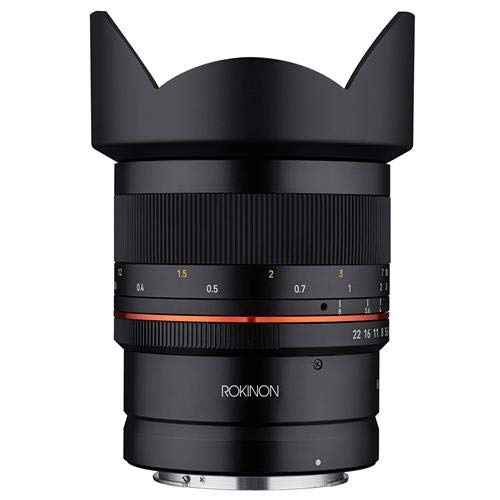 ROKINON 14mm F2.8 Ultra Wide Angle Weather Sealed Lens for Canon R Mirrorless Cameras