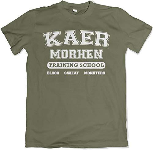 Teamzad Kaer Morhen Training School Green T Shirt Extra Large