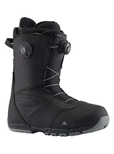 Burton Herren Ruler Boa Black Snowboard Boot, Schwarz(Black), 10.5 UK