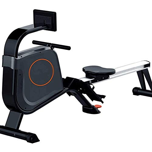 CCDV Rowing Machine, Compact for Home Workout,Smooth Rowing Stroke,Tone Muscle Improve Heart Health, with LCD Monitor Rower Row Machine Exercise Workout Machine for Home Use